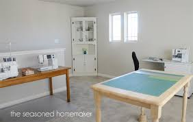 Craft And Sewing Room Ideas - sewing and craft studio the seasoned homemaker