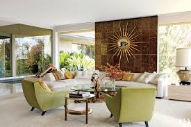 MidcenturyModern Living Rooms Photos Architectural Digest - Modern living room furniture images