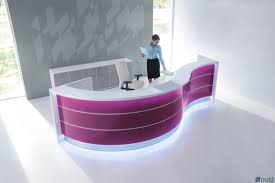valde by mdd modular reception desk with built in lights idolza