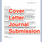 best solutions of cover letter for academic journal example in
