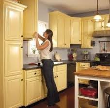 Kitchen Cabinet Color Ideas Use Fabric For The Backing Of Shelves Instead Of Paint Or
