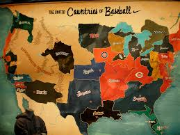 United States Map Activity by Here U0027s The Ultimate Mlb Territory Map As Determined By Facebook