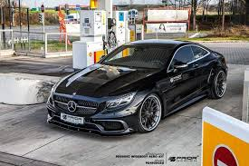 mercedes s coupe prior design presents astonishing widebody mercedes s class coupe