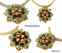 beading pattern necklace images Pendant beading tutorials and patterns by ellad2 jpg