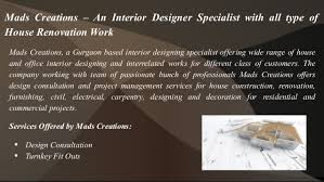 Home Construction And Decoration Residential Office Home Interior Designer In Gurgaon