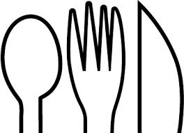 couvert de cuisine sticker cuisine dessin couverts tenstickers