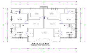 twin house detail plan