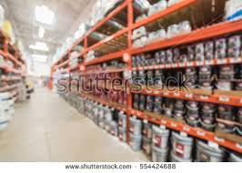 interior home improvement blurred large hardware store tools material stock photo 547796311