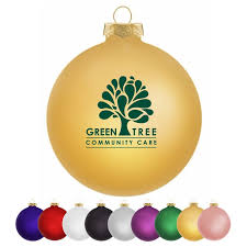 custom traditional glass ornaments with your logo imprintlogo