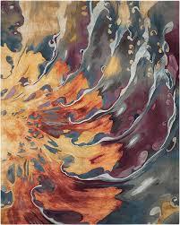 nourison prismatic prs08 multicolor area rug carpetmart com