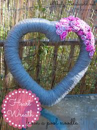 pool noodle wreath all that glitters