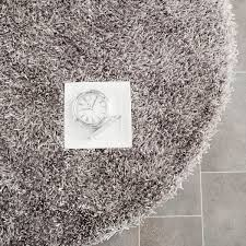 Paris Bathroom Rug by Plush Pile Grey Shag Rug New Orleans Collection Safavieh