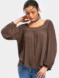 brown blouse brown blouse fashion shop trendy style zaful