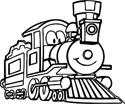 train coloring pages toddlers dinosaur printable