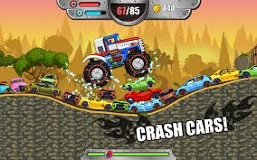 monster truck video games free monster wheels kings of crash android apps on google play