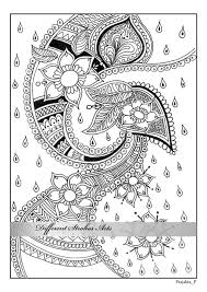 coloring pages henna art adult coloring pages henna art printable от differentstrokesarts