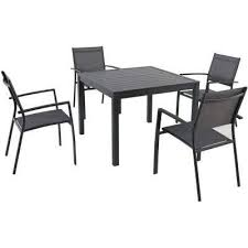 Aluminium Patio Table Patio Dining Sets Patio Dining Furniture The Home Depot