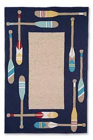nautical indoor outdoor rug paddle away indoor outdoor rug orvis