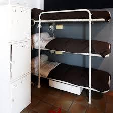 Triple Deck Bed Designs Kids Bedroom Tier Triple Bunk Bed Bunkbed Modern Beds Intended For