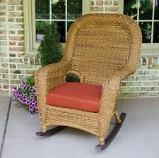 tortuga outdoor lexington wicker rocker wicker com
