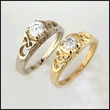 celtic engagement rings celtic engagement rings handcrafted in 14k gold with diamonds