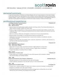 Sample Resume Summary For Freshers by Profile Summary In Resume For Freshers Resume For Your Job