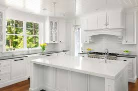 grey kitchen countertops with white cabinets 17 beautiful quartz kitchen countertops
