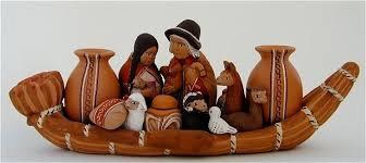 peruvian clay ornaments