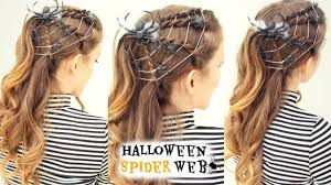 spider web hairstyle halloween hairstyle costume ideas 2016