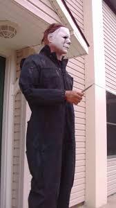 Michael Myers Costume Halloween Ii Michael Myers Coveralls Costume Life Sized Youtube