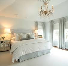 Blue White Gray Bedroom Gray And Blue Master Bedroom With Blue French Pleat Curtains
