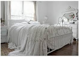 Vintage King Bed Frame Bedroom Interactive Picture Of Vintage White Chic Bedroom
