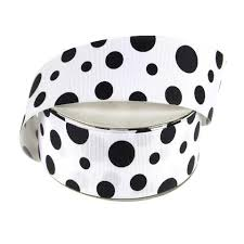 black and white polka dot ribbon polka dot ribbon www partymill
