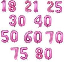 hochzeitstage jubil um sideso 2 folienballon zahl 10 99 rosa geburtstag jubiläum