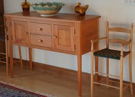 shaker sofa table nhwoodworking shaker huntboard sideboard kitchen work table