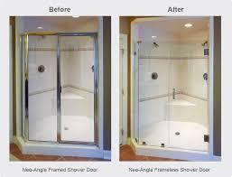 frameless glass shower doors a cutting edge glass u0026 mirror