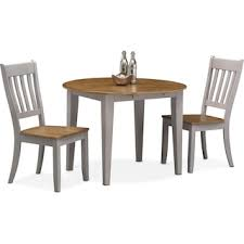 Wooden Drop Leaf Table Nantucket Drop Leaf Table Oak And Gray Value City Furniture
