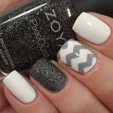 nail art nail design love the color combination here gray