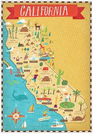 Joshua Tree California Map California Map Maps Pinterest Illustrated Maps Cali And