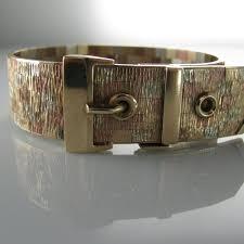 multi tone gold bracelet images Vintage multi tone gold bracelet buckle belt design the jpg