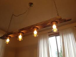 Three Pendant Light Fixture Driftwood Pendant Light And Set Of Three Pendants Style