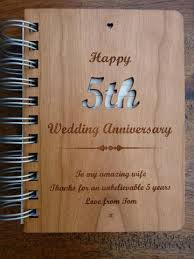 5th wedding anniversary gift wedding anniversary gifts personalised gifts