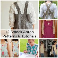 becky cooks lightly 12 smock apron patterns tutorials