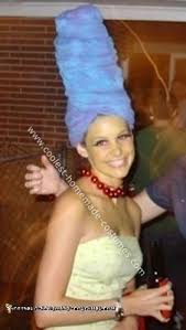 Bubble Wrap Halloween Costume 23 Awesome Blue Haired Marge Simpson Costume Ideas