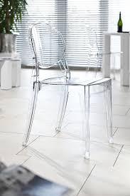Esszimmerstuhl Kunststoff Salesfever Design Stuhl Igloo Transparent Amazon De Küche U0026 Haushalt