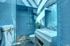 small bathroom blue tile cool and charming designs home design
