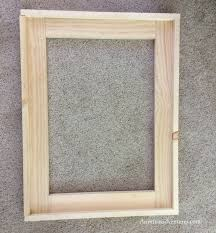diy wood framed bathroom mirror christinas adventures