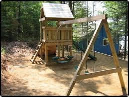 Backyard Swing Set Plans by 13 Best Playhouse Swingset Images On Pinterest Playhouse Ideas