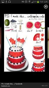 Watermelon Cake Decorating Ideas 40 Best Fruits Decoration Images On Pinterest Fruit Decorations
