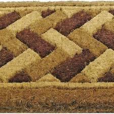 Outdoor Coir Doormats Flooring U0026 Rugs Interesting Coir Doormat Decor For Your Furniture